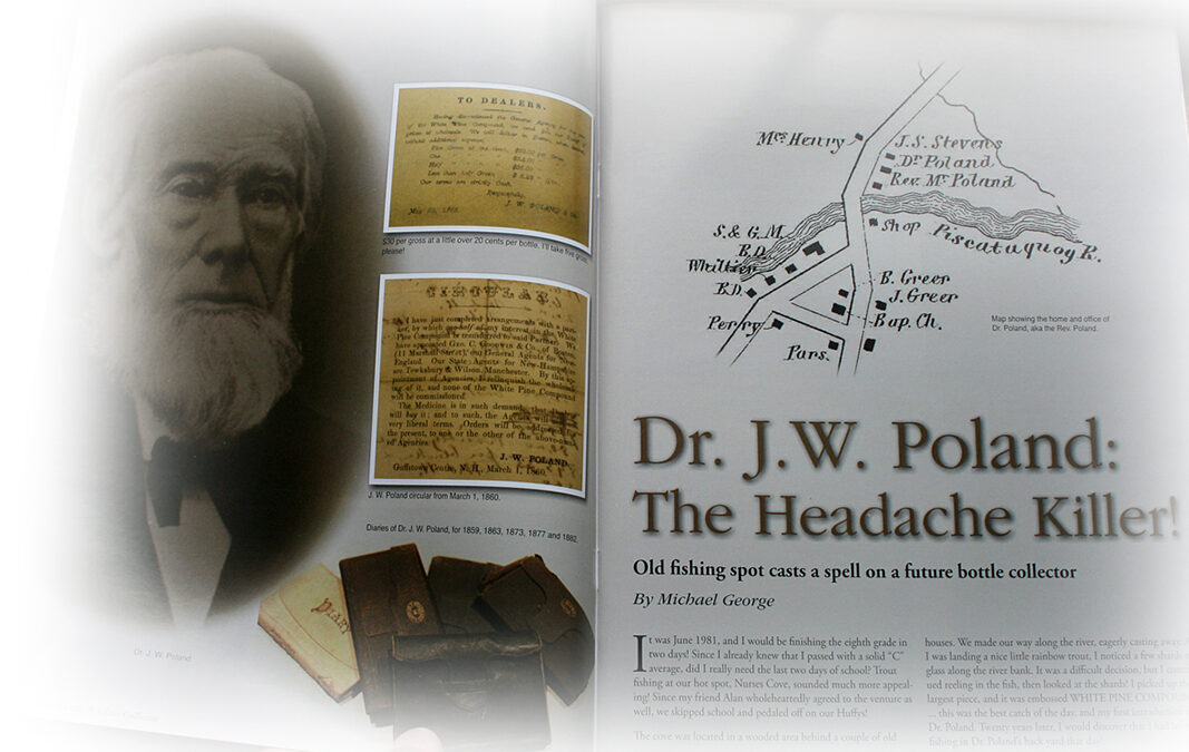 The Story of Dr. J.W. Poland And His Medicinal Wares!